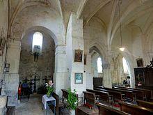 Feigneux_(60),_église_Saint-Martin,_nef,_grandes_arcades_du_nord