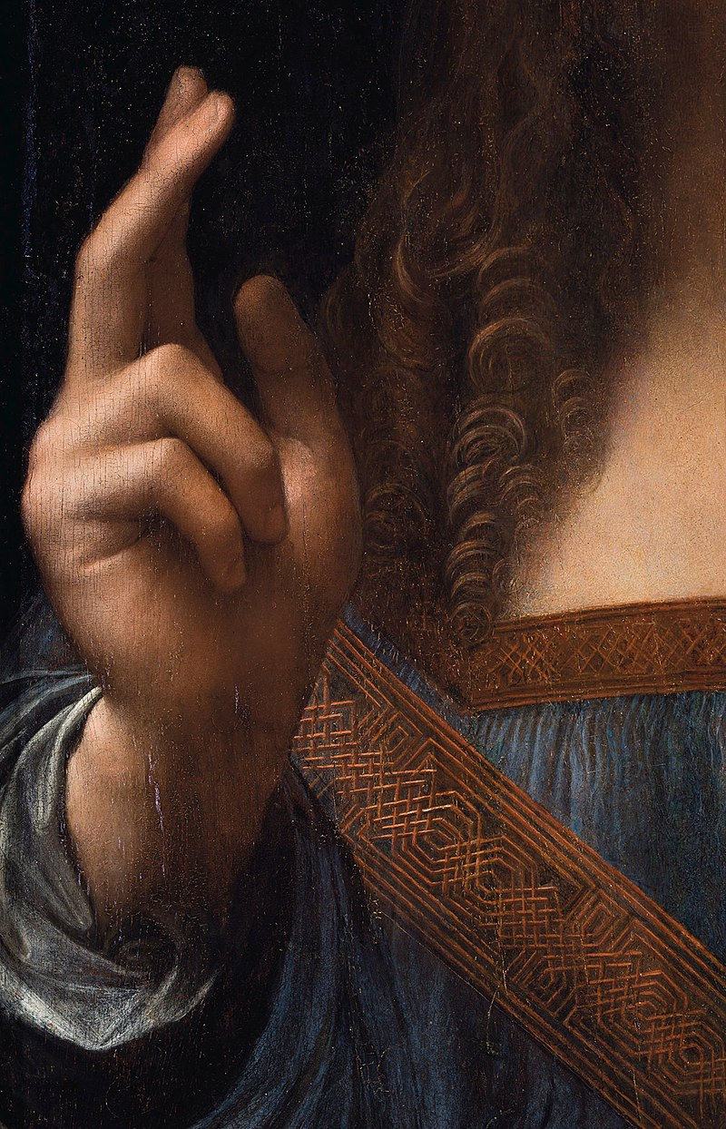 800px-Leonardo_da_Vinci,_Salvator_Mundi,_detail_of_right_hand