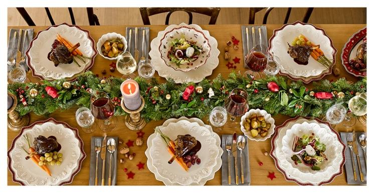 repas de fête de noël