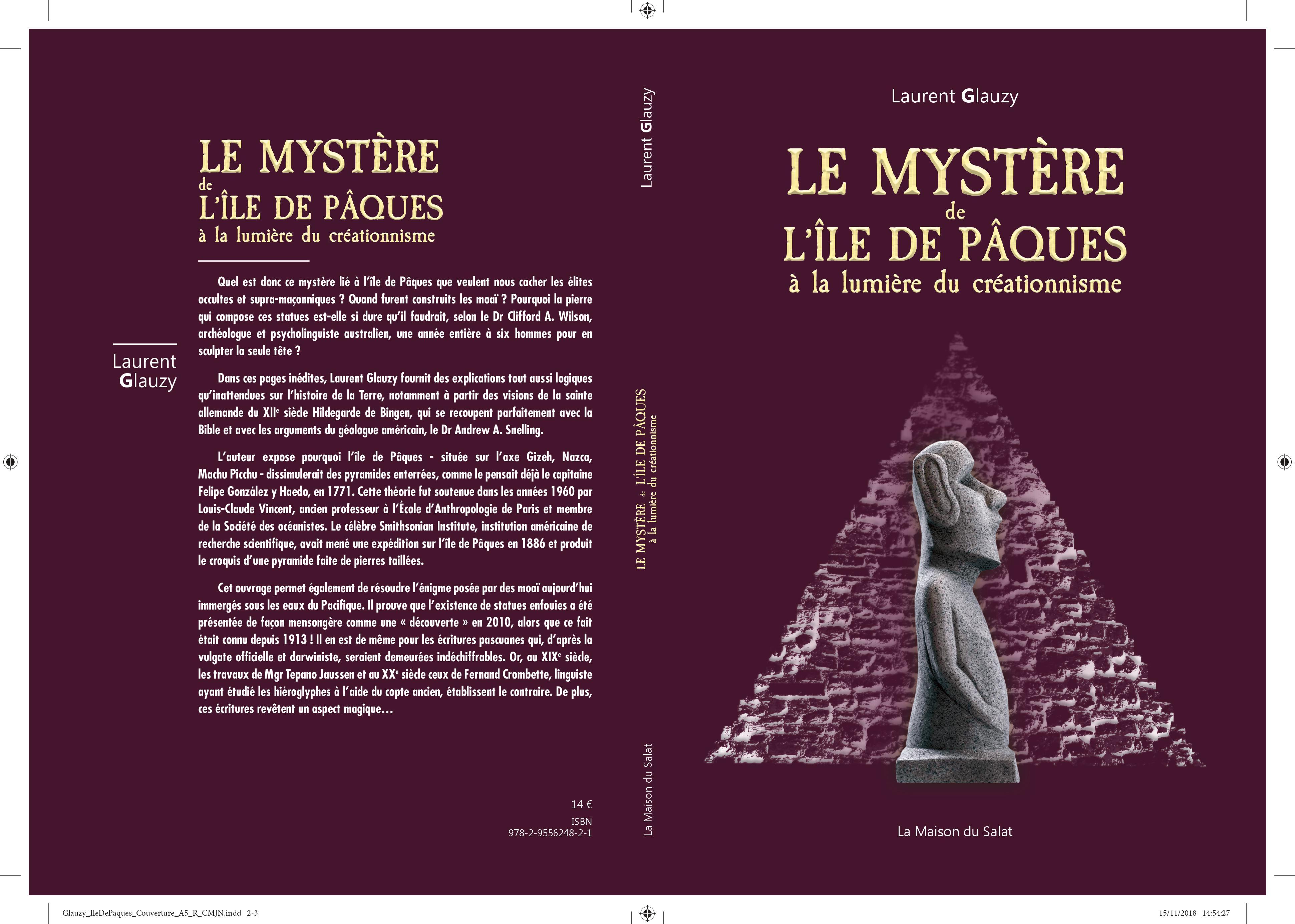 Les secrets de l'île de Pâques, un autre nouveau livre + vidéo de Laurent  Glauzy | Pro Fide Catholica