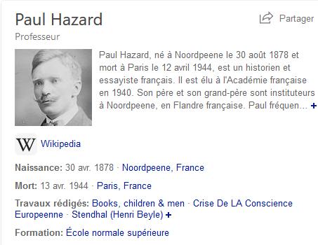Paul Hazard