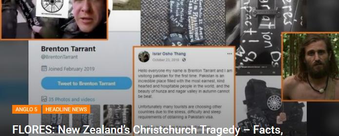 L'assassin de Christchurch est un extrémiste de gauche Brenton-tarrant