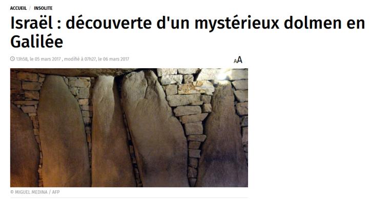 Dolmens Celtes en Israël.png