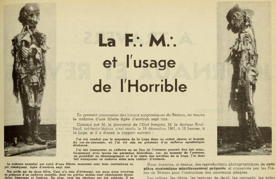 La F.M. et l'usage de l'Horrible
