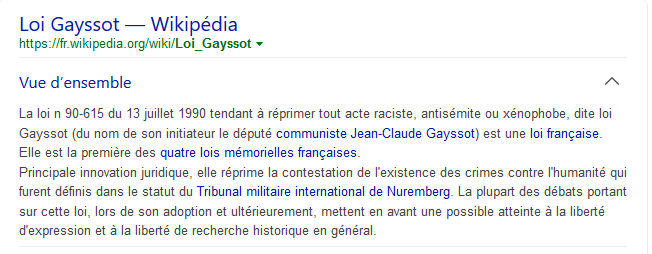 Loi Gayssot Wikipedia