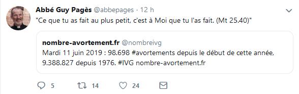 Abbé Pagès Avortements