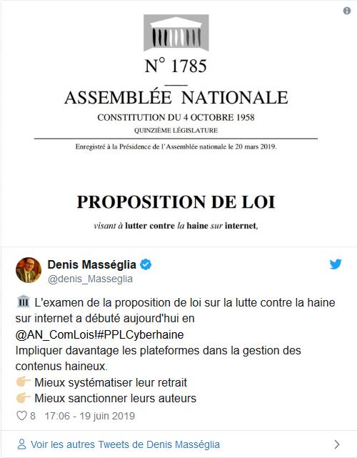Screenshot_2019-06-20 L'examen de la proposition de loi sur la lutte « contre la haine sur internet » débute aujourd'hui à [...].png