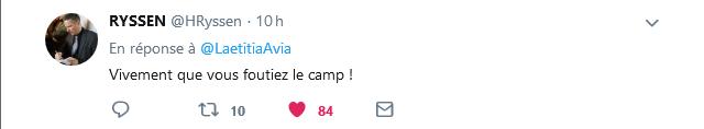 Screenshot_2019-06-26 Laetitia Avia sur Twitter Ça vous choque dans la rue Pourquoi l'accepter sur internet #PPLCyberHaine…