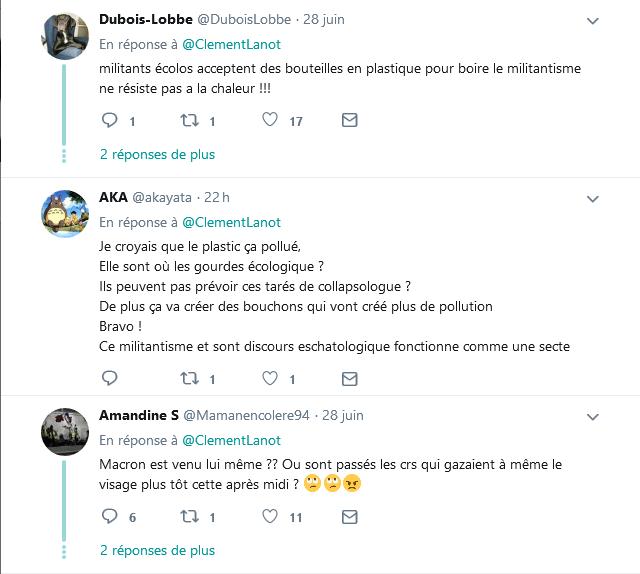 Screenshot_2019-06-30 Clément Lanot sur Twitter DIRECT - L'#Elysée a fait distribuer de l'eau aux militants pour le climat [...](6)