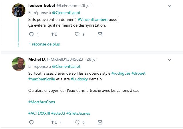 Screenshot_2019-06-30 Clément Lanot sur Twitter DIRECT - L'#Elysée a fait distribuer de l'eau aux militants pour le climat [...](8)