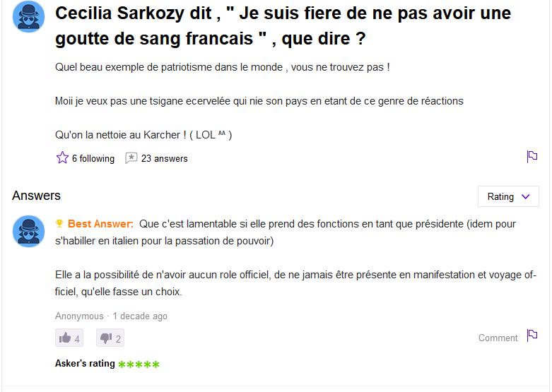 Screenshot_2019-07-06 Cecilia Sarkozy dit , quot; Je suis fiere de ne pas avoir une goutte de sang francais quot; , que dire