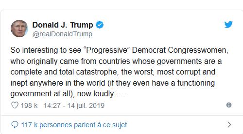 Screenshot_2019-07-16 Les démocrates dénoncent les propos « racistes et xénophobes » de Trump contre des élues