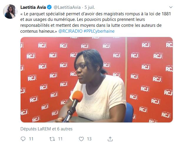 Screenshot_2019-07-25 Laetitia Avia ( LaetitiaAvia) Twitter(1)