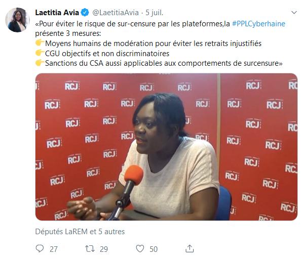 Screenshot_2019-07-25 Laetitia Avia ( LaetitiaAvia) Twitter(2)