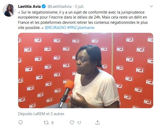 Screenshot_2019-07-25 Laetitia Avia ( LaetitiaAvia) Twitter(3)