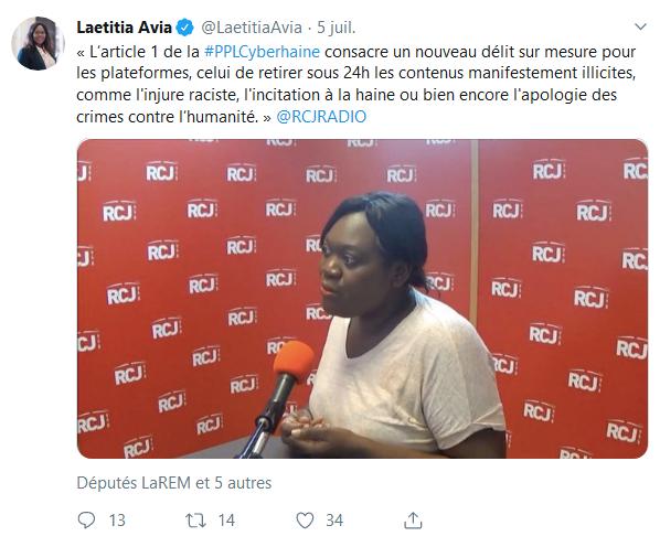 Screenshot_2019-07-25 Laetitia Avia ( LaetitiaAvia) Twitter(4)