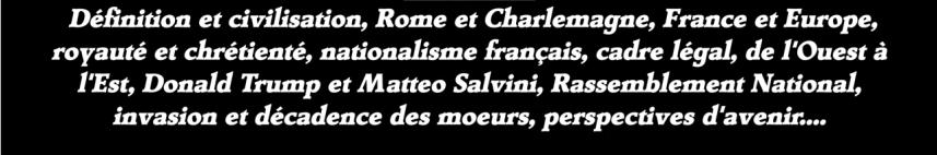 Screenshot_2019-08-05 (2) Actualité de l'Occident blanc chrétien avec Scipion de Salm (été 2019) - YouTube