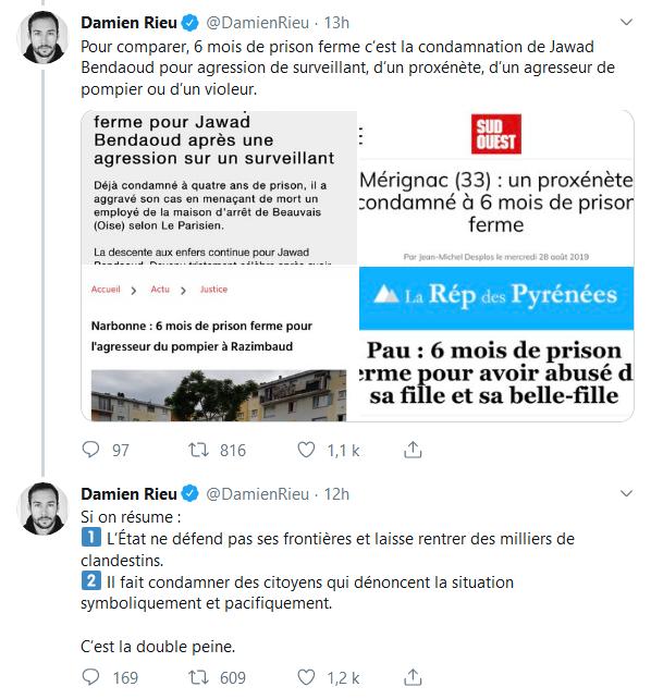 Screenshot_2019-08-30 (2) Damien Rieu sur Twitter L'Etat a donc décidé de persécuter les jeunes Français qui osent prouver [...](2)