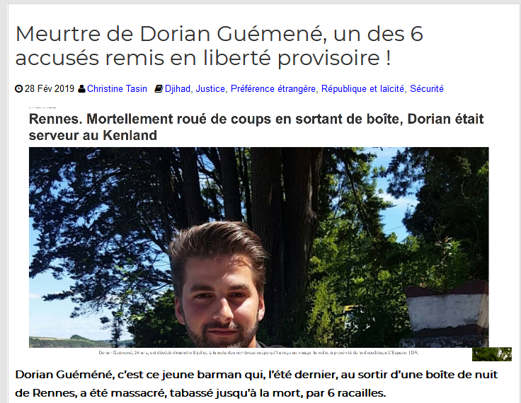 Screenshot_2019-09-03 Meurtre de Dorian Guémené, un des 6 accusés remis en liberté provisoire (1)