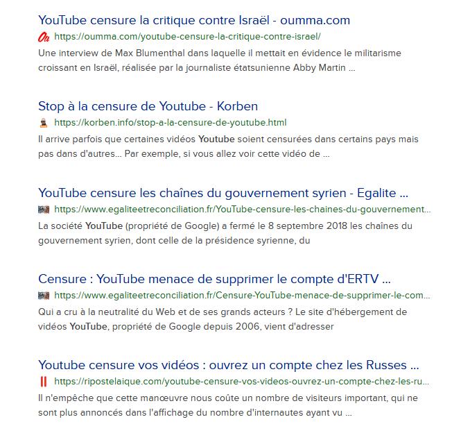 Screenshot_2019-09-06 you tube censure at DuckDuckGo(5)