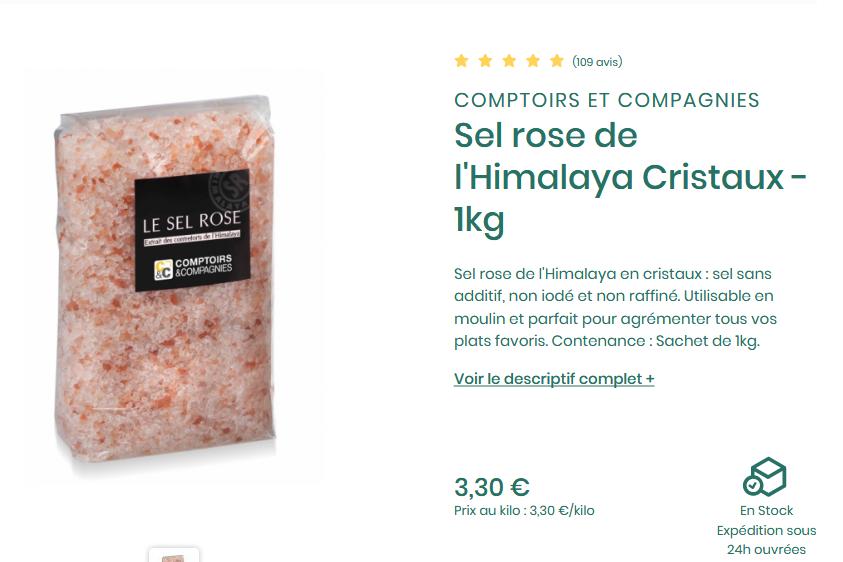 Screenshot_2019-09-10 Sel rose de l'Himalaya Cristaux - 1kg Comptoirs et Compagnies.png