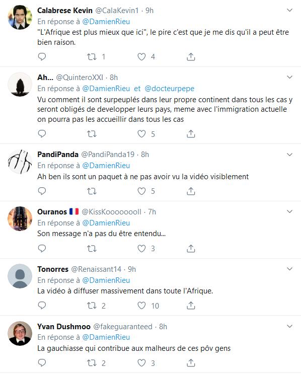 Screenshot_2019-09-14 (2) Damien Rieu sur Twitter « Je conseille aux Africains de rester en Afrique La télévision ne nous a[...](1)