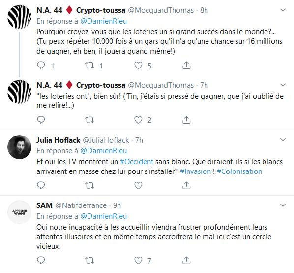 Screenshot_2019-09-14 (2) Damien Rieu sur Twitter « Je conseille aux Africains de rester en Afrique La télévision ne nous a[...](2)