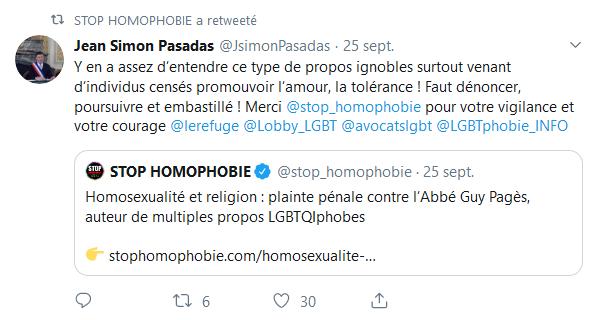 Screenshot_2019-09-27 (8) STOP HOMOPHOBIE ( stop_homophobie) Twitter