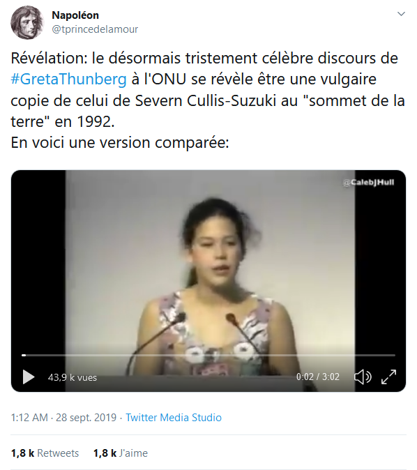 Screenshot_2019-09-30 (1) Napoléon sur Twitter Révélation le désormais tristement célèbre discours de #GretaThunberg à l'ON[...]