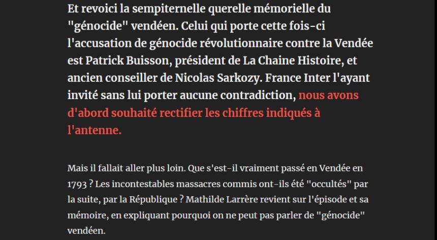 Screenshot_2019-10-01 Un génocide vendéen Mathilde Larrère rectifie Patrick Buisson - Par La rédaction Arrêt sur images(1)