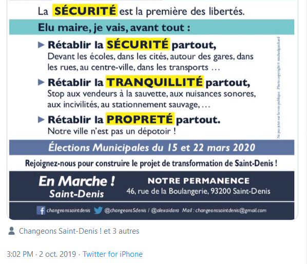 Screenshot_2019-10-02 (2) Alexandre AÏDARA sur Twitter Notre 1ère priorité pour VilleSaintDenis sera la sécurité, la tranqu[...](1)