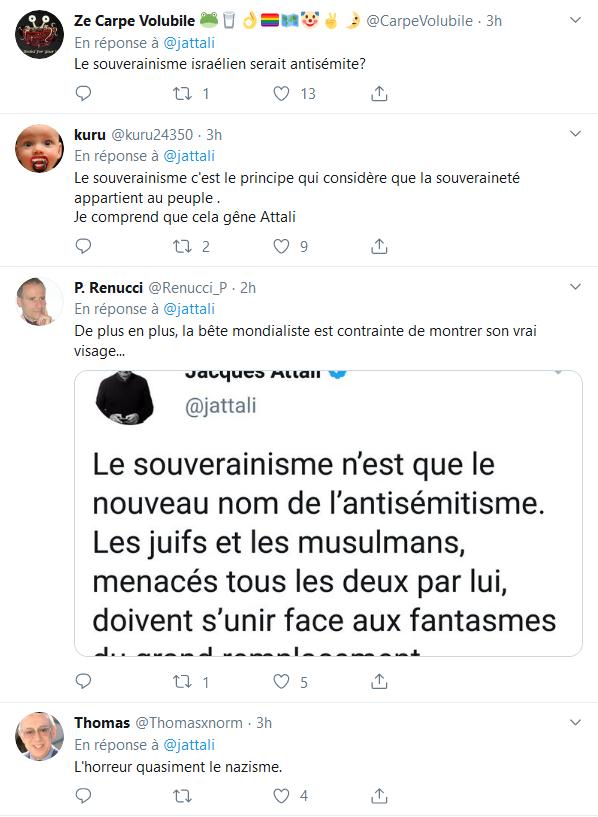 Screenshot_2019-10-04 Jacques Attali sur Twitter Le souverainisme n'est que le nouveau nom de l'antisémitisme Les juifs et [...](11)