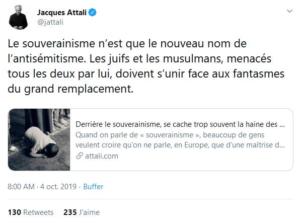 Screenshot_2019-10-04 Jacques Attali sur Twitter Le souverainisme n'est que le nouveau nom de l'antisémitisme Les juifs et [...](60)