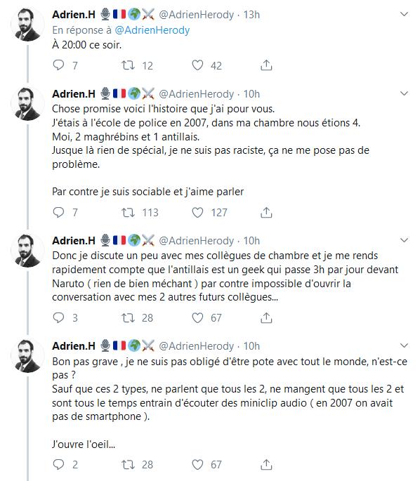 Screenshot_2019-10-07 (2) Adrien H 🎙️🇫🇷🌍⚔️ sur Twitter Ce qui est arrivé à la Préfecture n'est pas un cas isolé d'infil[...](1)