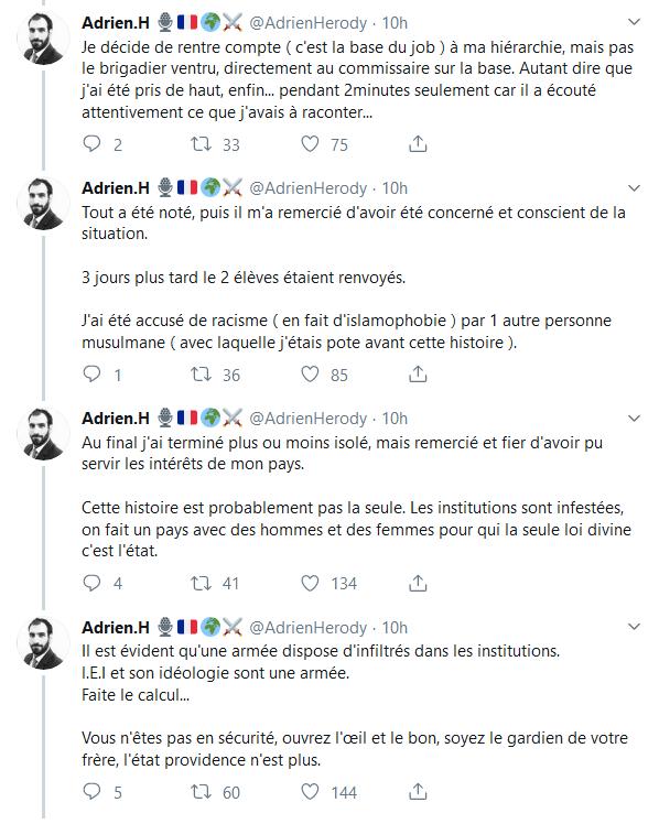 Screenshot_2019-10-07 (2) Adrien H 🎙️🇫🇷🌍⚔️ sur Twitter Ce qui est arrivé à la Préfecture n'est pas un cas isolé d'infil[...](3)