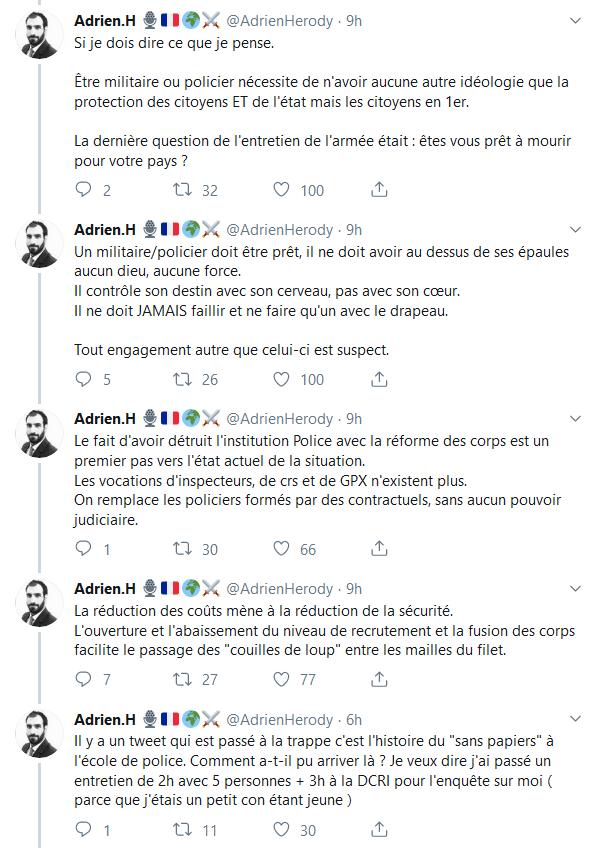 Screenshot_2019-10-07 (2) Adrien H 🎙️🇫🇷🌍⚔️ sur Twitter Ce qui est arrivé à la Préfecture n'est pas un cas isolé d'infil[...](4)