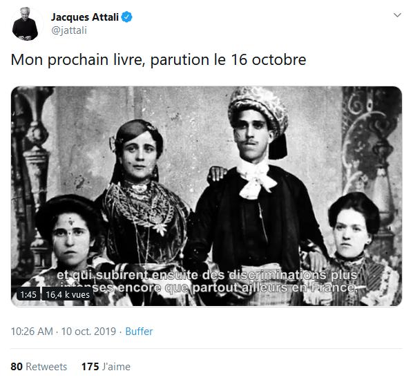 Screenshot_2019-10-11 (2) Jacques Attali sur Twitter Mon prochain livre, parution le 16 octobre https t co CEDWOsgYwr Twitter