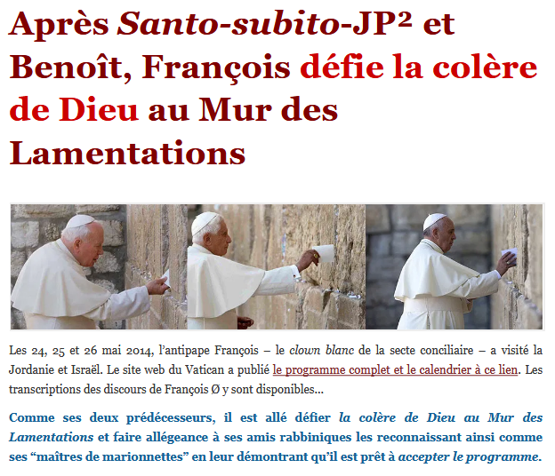 Screenshot_2019-10-11 Après Santo-subito-JP² et Benoît, François défie la colère de Dieu au Mur des Lamentations