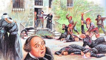 Prêtres massacrés