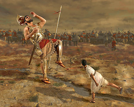 "MY TREASURE BOX"" : STORY OUTLINE: DAVID & GOLIATH"