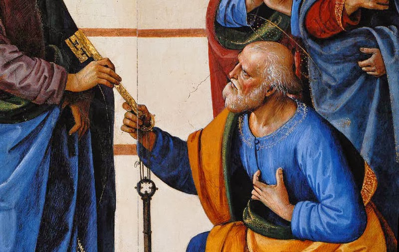 """""""Tu es Pierre et sur cette pierre je bâtirai mon Eglise"""""""