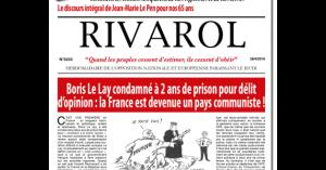 TradiNews: [Jérôme Bourbon - Rivarol] Quelle est cette ...