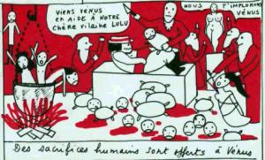 La « Vilaine Lulu » d'Yves Saint Laurent : un livre noir ...